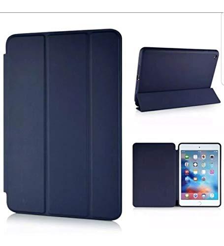 Capa Smart Case para iPad Mini 5 / Capa Traseira/Caneta Touch (Azul Escuro)