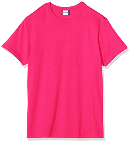 Clique Herren New Classic T-Shirt, Pink (Bright Cerise), X-Large