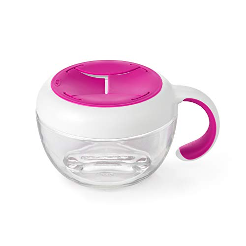 OXO Tot Flippy Snack Cup (Raspberry)