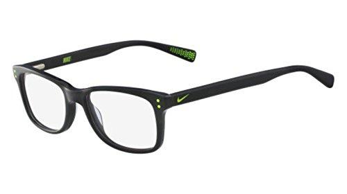 Nike Herren 5538 010 46 Brillengestelle, Schwarz (Black/Volt)