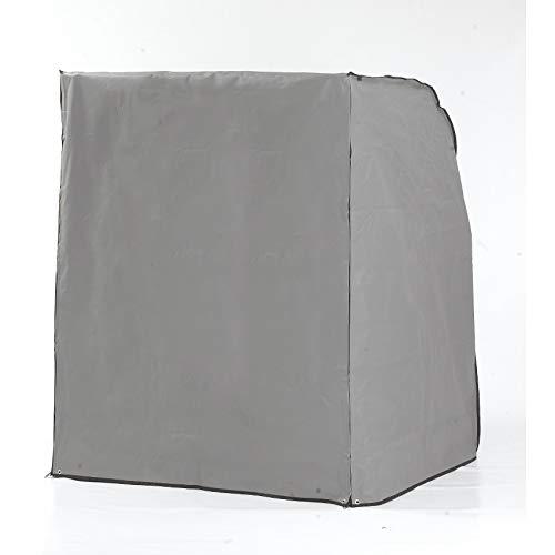 Sonnenpartner Schutzhülle für Strandkorb 2-Sitzer, grau