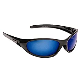 Mens Dark Wrap Around Sports Biker Ski Sunglasses Cool Designer Reflective Shades + Case UV400