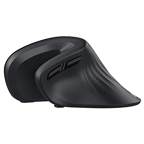 iClever Ergonomic Mouse - Wireless Vertical Mouse 6 Buttons with Adjustable DPI Comfortable 2.4G Optical Vertical Ergonomic Mouse for Mac, PC, Desktop, Laptop