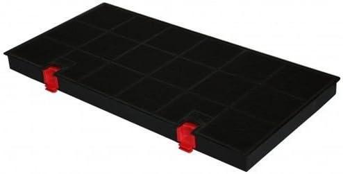 Filtre à charbon rectangulaire daniplus© de type150 pour AEG, Electrolux, Juno, Bauknecht, Whirlpool