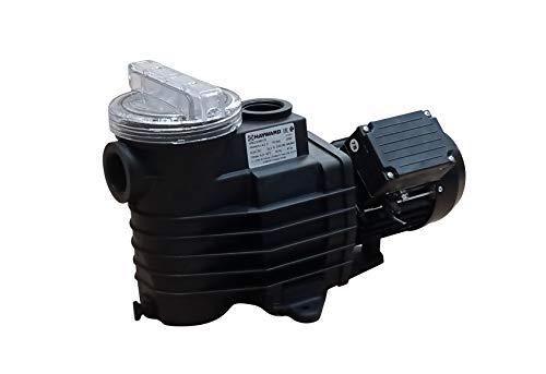 Hayward 75M Bomba de filtración para Piscina, Negro
