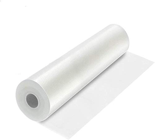 ABOX Vakuumrollen Vakuum Folienbeutel 28cm x 5m Vakuum-Folie für Vakuumiergerät