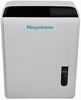 Keystone 95 Pint Dehumidifier with Built In Pump KSTAD957PA (Renewed)