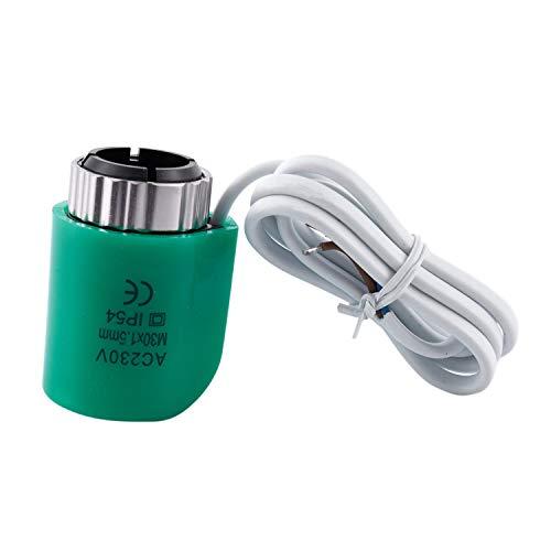 CUHAWUDBA 220V 2Va Normalmente Calefacción De Suelo Abierto Eléctrico Actuadores Separador De...