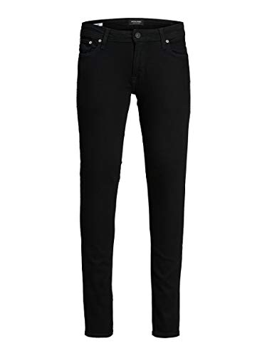 JACK & JONES Herren Skinny Fit Jeans Liam ORIGINAL AM 009 3032Black Denim