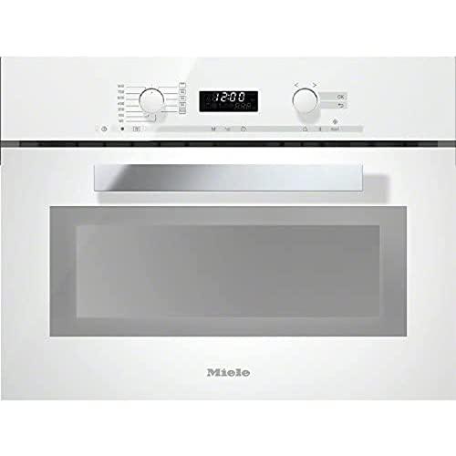 Microondas TC integrado modelo M 6262 TC, 900W, 46 litros, color blanco, 56 x 59,6 x 45,6 centímetros (referencia: Miele 24626210P)