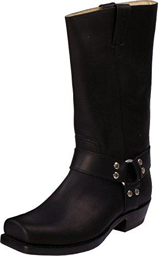 Sancho Boots Herren Damen Stiefel Negro Schwarz Größe 36
