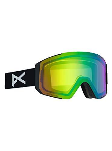 Anon(アノン) スノーボード スキー ゴーグル レディース WOMEN'S SYNC GOGGLE ASIAN FIT WITH BONUS LENS 2019-20年モデル NAサイズ BLACK/SONAR GREEN 21509100040