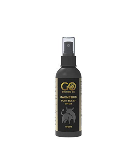 100ml Magnesium Spray - Golden Ox - Non-Oily - Ease Activation Products