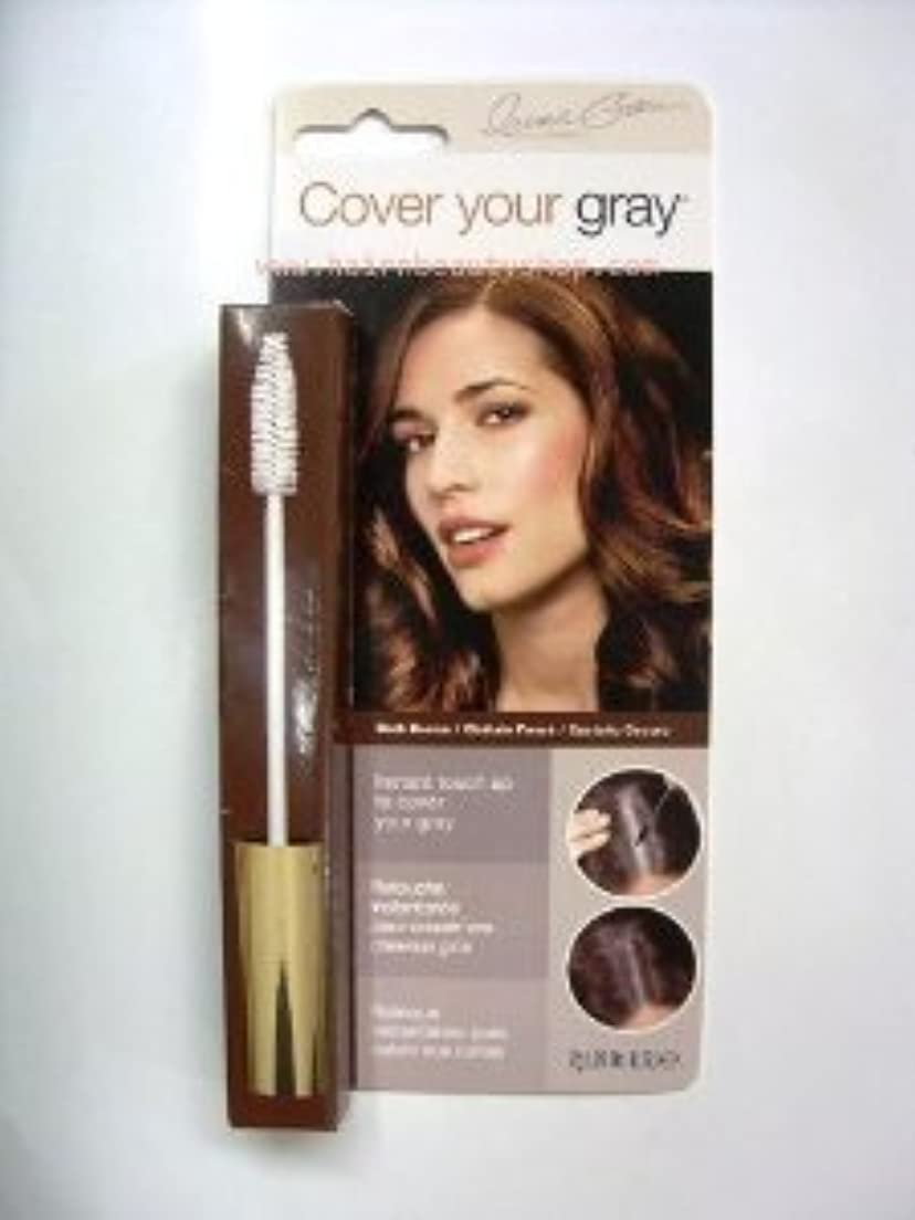 制限不調和絶滅Cover Your Gray Hair Mascara for women DARK BROWN by Cover Your Gray