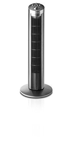 Taurus Babel - Ventilador de torre sin control remoto, 3 velocidades, 45W, color gris