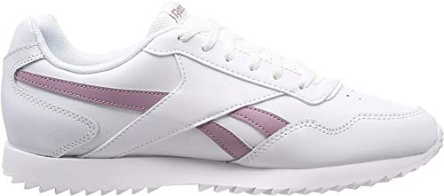 Reebok Royal Glide Ripple, Zapatillas de Deporte para Mujer, Multicolor (White/Infused Lilac 000), 40 EU