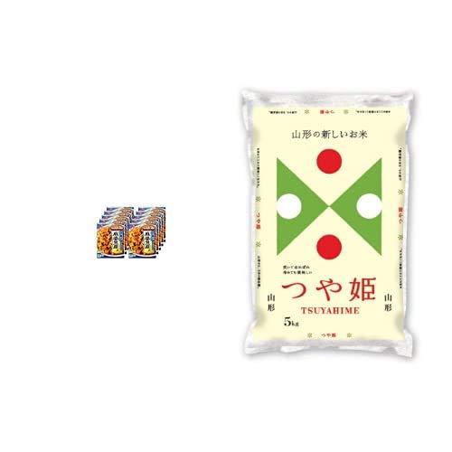 味の素 CookDo(クックドゥ) 広東式麻婆豆腐用 135g×10個入 +  【精米】山形県産 白米 つや姫 5kg 令和元年産