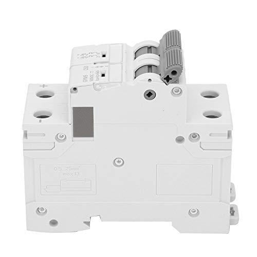 Disyuntor de CC, mini equipo de protección electrónico portátil GYM9-C63 1-63A 2P