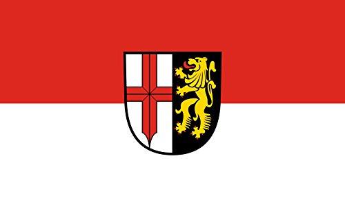 Unbekannt magFlags Tisch-Fahne/Tisch-Flagge: Edingen-Neckarhausen 15x25cm inkl. Tisch-Ständer