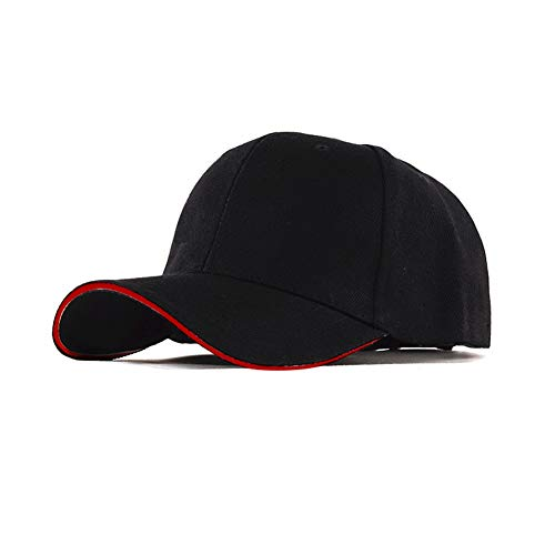 LYEC3 100% Silberfaser Hut Anti-elektromagnetische Strahlung Computer Mikrowelle 5G Kommunikation EMF Abschirmung Unisex Sonnenschutzkappe (Farbe : Schwarz)