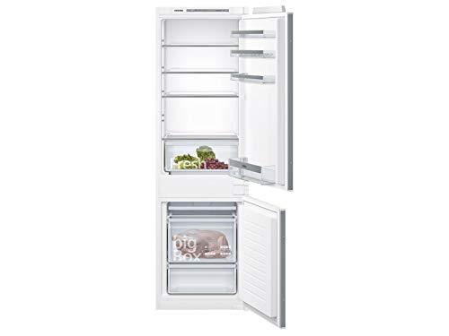 Siemens KI86VVSF0 iQ300 Einbau-Kühlgefrierkombination / F / 279 kWh/Jahr / 268 l / lowFrost / Big Box / LED Beleuchtung