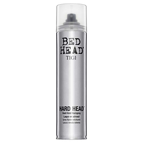 TIGI BED HEAD Hard Hold Hairspray Haarspray, 1er Pack (1 x 385 ml)