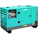 Groupe électrogène monophasé insonorisé diesel 7 kVA 1500 Tr/min WORMS