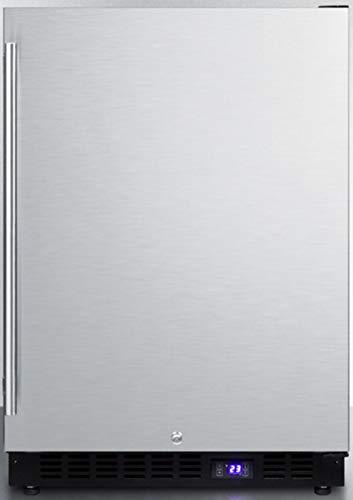 Summit SPFF51OS Outdoor Undercounter Freezer, Stainless Steel
