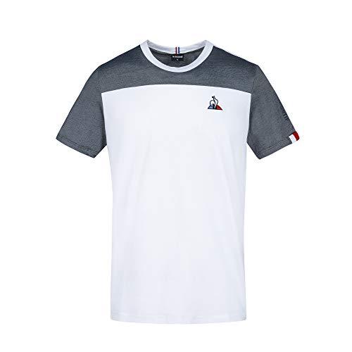 Le Coq Sportif Saison 1 Tee Ss N°2 M Kurzarm-T-Shirt Herren XL Mehrfarbig (bleu tricotage)