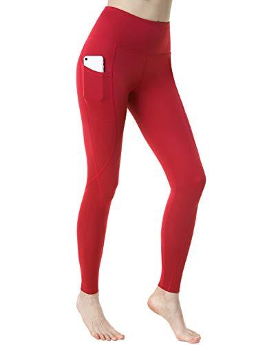 TSLA Women High Waist Yoga Pants with Pockets,...