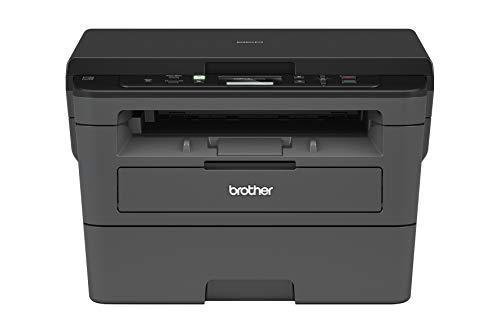 Brother DCP-L2530DW Kompaktes 3-in-1 S/W-Multifunktionsgerät (30 Seiten/Min., Drucken, Scannen, Kopieren, A4, echte 1.200x1.200 dpi, Duplexdruck, 250 Blatt Papierkassette, USB 2.0, WLAN)