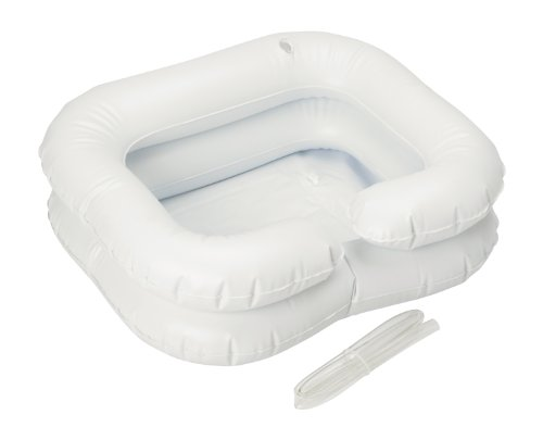 Homecraft Inflatable Shampoo Basin, Wash Hair in Bed, Long Term Bedrest, Disabled, Handicapped, Easily Clean and Conditions Hair, Easy to Inflate, Assistive Aid, (Eligible for VAT relief in the UK