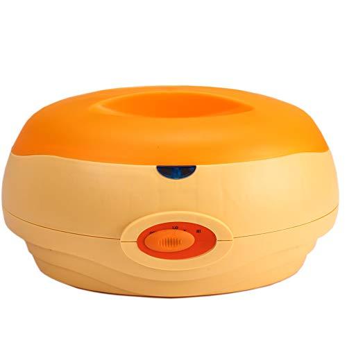 2.7L Parafina Calentador de Cera Mano SPA Más Cálido Máquina Parafina Cera Terapia Bañera Calmante Hidratante Belleza Salón Mano Pie Tratamiento Orange-180W