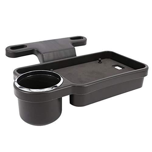 Asiento de automóvil Caja de desechos Bolsa de Almacenamiento de bocadillos portavasos de Agua para automóvil Suministros para automóvil