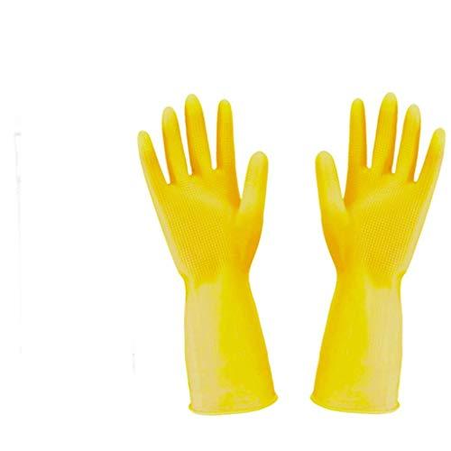 qingtianlove Latexhandschuhe Industrielle Schutzhandschuhe Aus Rindfleisch, Die Zum Reinigen Von Haushaltsgeschirrspülhandschuhen Geeignet Sind Handschuhe