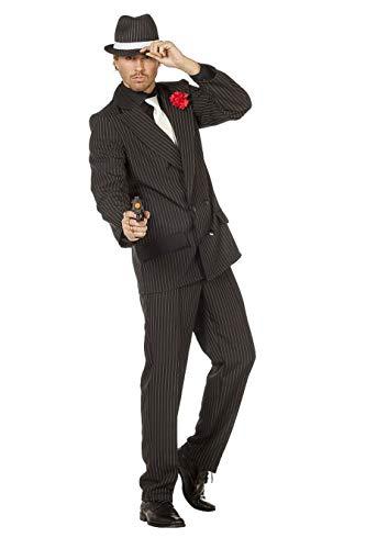 TH-MP Disfraz de charlestn de los aos 20 y 30 para hombre, 2 piezas (48)