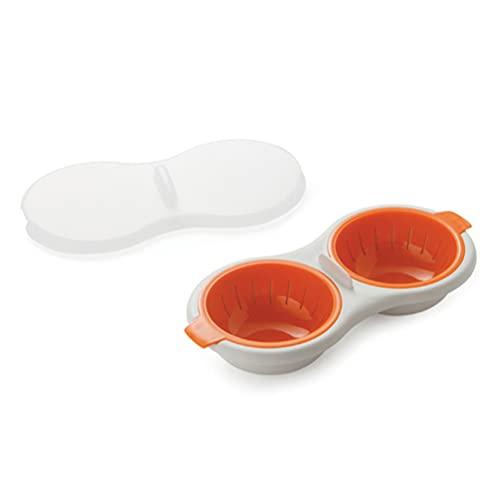 microondas naranja de la marca Zezzo