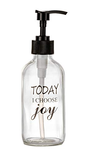 8 OZ Glass soap Dispenser with Pump $8.39 (40% Off with code)