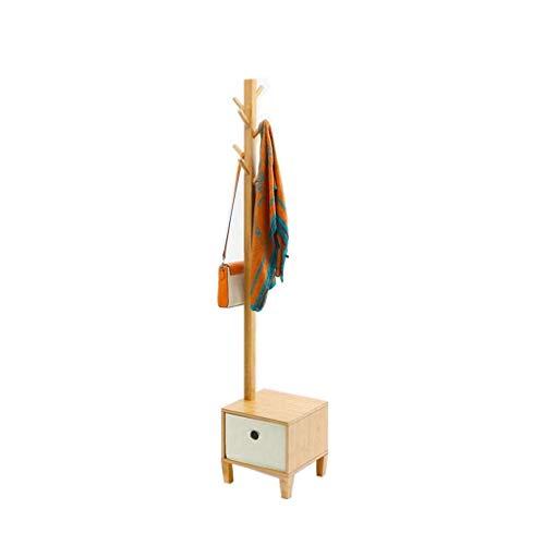 Kledingrek mode staande garderobe creatieve massief houten kledinghangers modern veranderen schoen bank doek pompen opslag kruk garderobe