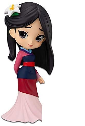 Banpresto Figura Q Posket de Mulan (Ver.A) – Disney Characters Prize Multicolor BP17550