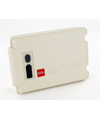 Physio-Control 11141-000149 Rechargeable NICD Battery with Fuel Gauge for LIFEPAK 12 Defibrillator/Monitor, 1.6 Ah