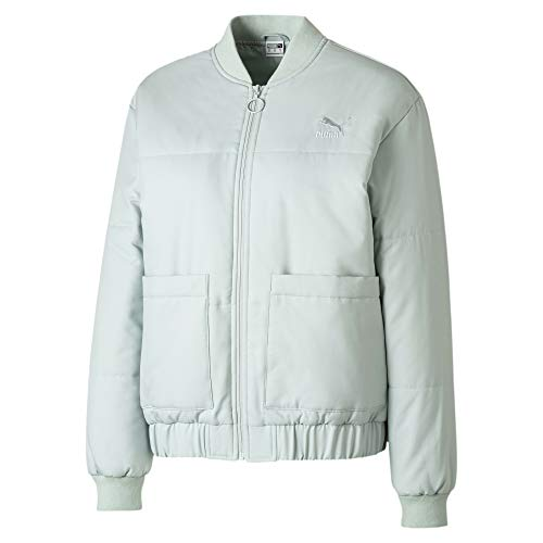 PUMA Statement Damen Bomberjacke Sky Gray S