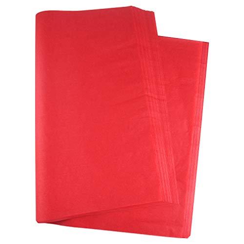 MIAHART 60 hojas de papel de seda de Navidad de 50 x 35 cm de papel de regalo para manualidades y decoraciones