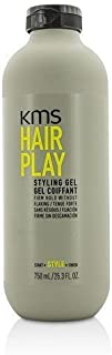 KMS HAIRPLAY Styling Gel Flake-Free, Glossy Shine & Firm Hold, Long-Lasting Control, Unisex, 25.4 oz