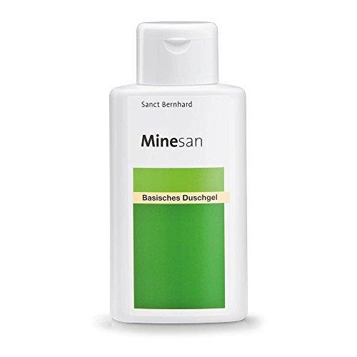 Minesan Basisches Duschgel mit Panthenol, Allantoin, Betain, Hamamelis 250 ml
