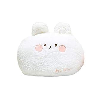 DXDE4U Bunny Plush Pillow Adorable Bunny Stuffed Animal Home Cushion Decoration Plush Hugging Pillow Bunny Toy Birthday Xmas Travel Gift for Kids Adults Girls Boys  1514 inch