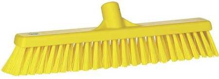 VIKAN Yellow Polyester Fine Sweeping Combo Floor Broom
