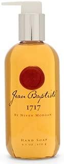 Jean Baptiste New Orleans Niven Morgan 1717 9.5oz Hand Soap, soothing, moisturizing aloe vera, the purest glycerin and invigorating white tea