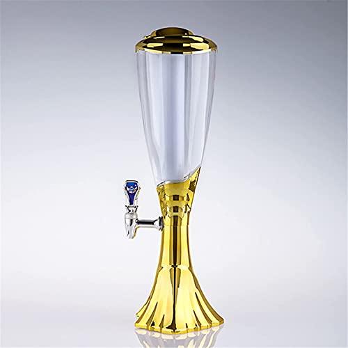MU Torre de cerveza, dispensador de barriles de cerveza, dispensador de bebidas, torre de cerveza, dispensador de bebidas, accesorios de bar, fácil de limpiar, torre de bebida, 0 l