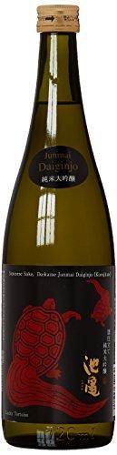 Ikekame Premium-Sake (Reiswein) Turtle Red, Junmai Daiginjo, 1er Pack (1 x 720 ml)